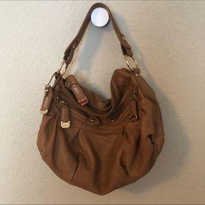 Dkny Bags - DKNY Brown Leather Handbag/Satchel